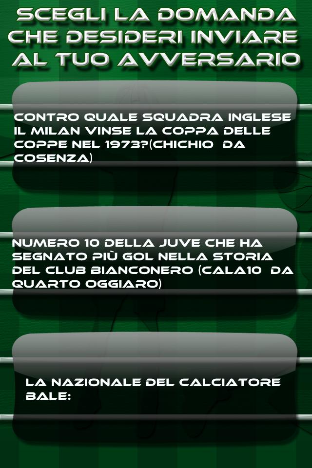Screenshot Chi Vuol Essere Sportivo 2
